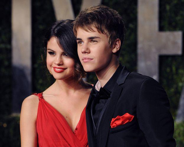 Selena Gomez e Justin Bieber al party degli Oscar 2011