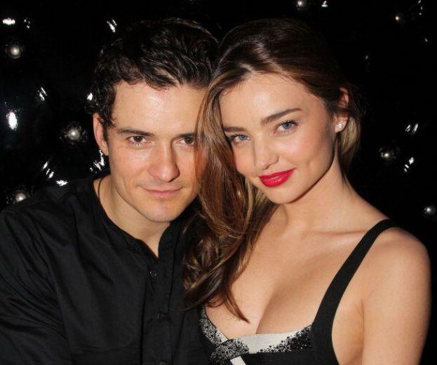 Orlando Bloom e Miranda Kerr - Il bell'inglesino e la supertop hanno annunciato il loro fidanzamento nel giugno 2010 e si sono sposati il mese dopo con una cerimonia lontana dai riflettori. Nel 2013 hanno divorziato - c'est la vie...