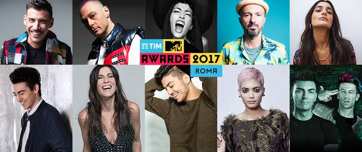 TIM MTV Awards 2017: il cast