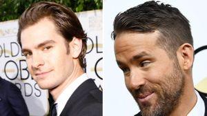 Globos de Ouro 2017: e a beijoca que o Ryan Reynolds deu ao Andrew Garfield?