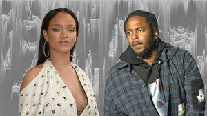 E a colaboração do Kendrick com a Rihanna que está TOP?