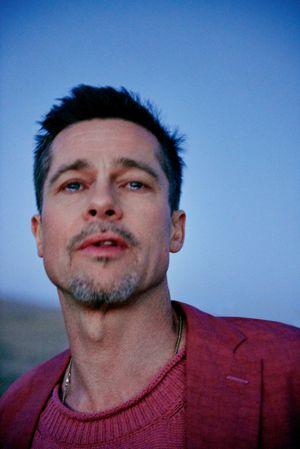 Brad Pitt: as fotos de Ryan McGinley para a produção da GQ é a coisa mais inacreditável que vais ver hoje