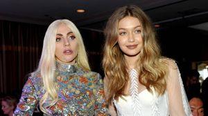 Aquele momento em que percebes que a Lady Gaga e a Gigi se adoram.