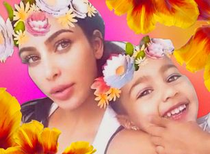 Kim Kardashian + North West = #BFFGoals