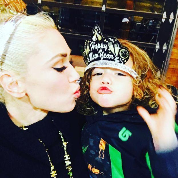 Zuma Nesta Rock, Kingston James McGregor e Apollo Bowie Flynn - filhos da Gwen Stefani e Gavin Rossdale