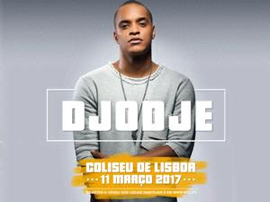 Vai ver o Djodje ao Coliseu de Lisboa com a MTV!