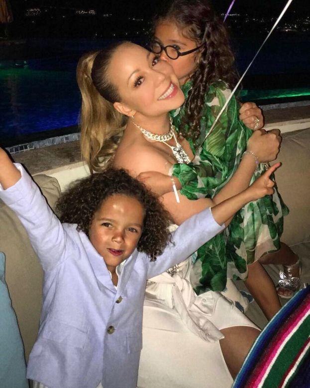 Moroccan Scott e Monroe - filhos de Mariah Carey e Nick Cannon