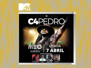 Vai ao concerto do C4 Pedro no Meo Arena!