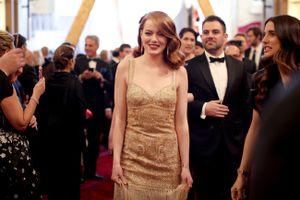 Óscares 2017: o momento em que a Emma Stone se assustou com o Justin Timberlake!
