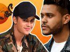 Parece que o Bieber não gosta da música do The Weeknd...