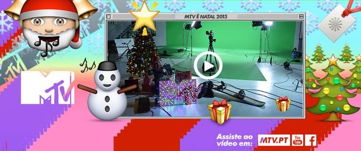 O vídeo de Natal da MTV