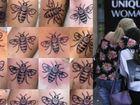 Tatuar uma abelha em homenagem às vítimas do atentado em Manchester? Sim!