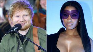 E o Ed Sheeran a cantar 'Monster' da Nicki Minaj?