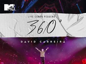 Ganha CDs/DVDs do Live Campo Pequeno 360º do David Carreira