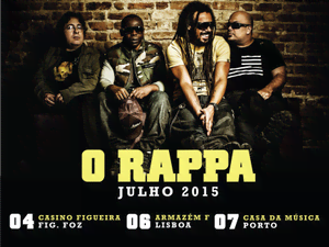 Vai a um concerto de O Rappa com a tua MTV!