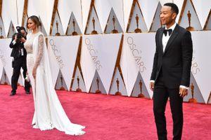 Óscares 2017: não dá para aguentar a Chrissy Teigan e o John Legend!!!