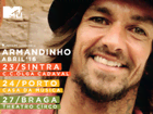 Ganha convites para o concerto do Armandinho com a tua MTV!