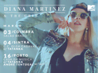 Ganha convites para veres a Diana Martinez ao vivo