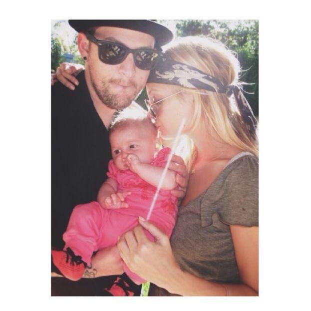 Sparrow James Midnight - filho da Nicole Richie e Joel Madden