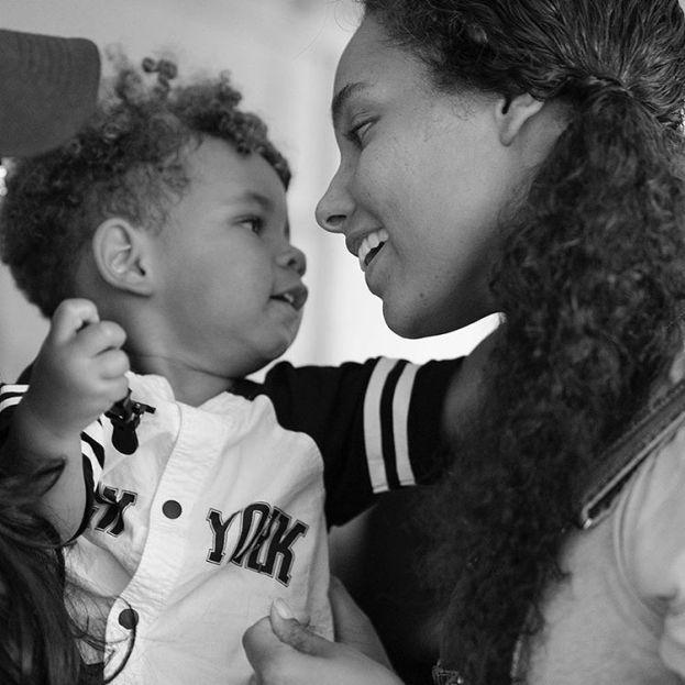 Egypt Daoud e Genesis Ali - filha da Alicia Keys e Swizz Beatz