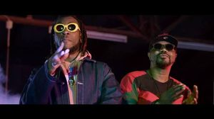 """jimmy jat features burna boy on """"the chase"""" music video"""