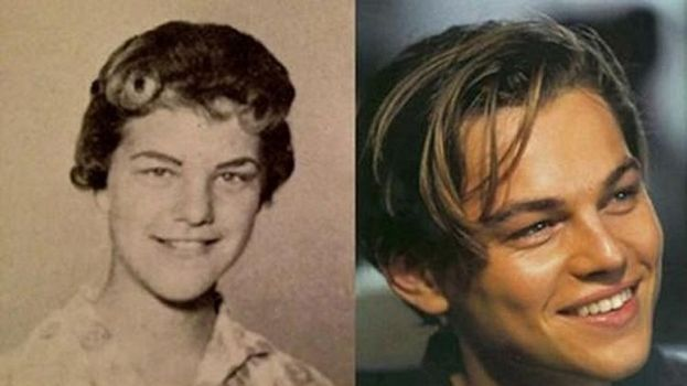 Leonardo DiCaprio y Judy Zipper