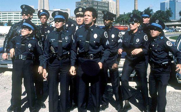 Loca academia de policía'