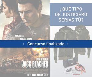 Gana una sudadera y un kit de emergencia para el coche con 'Jack Reacher: Nunca vuelvas atrás'