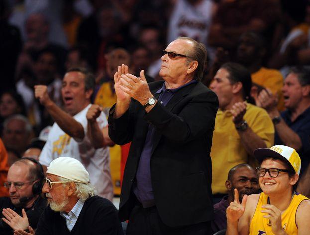 Jack Nicholson y 'Los Ángeles Lakers'