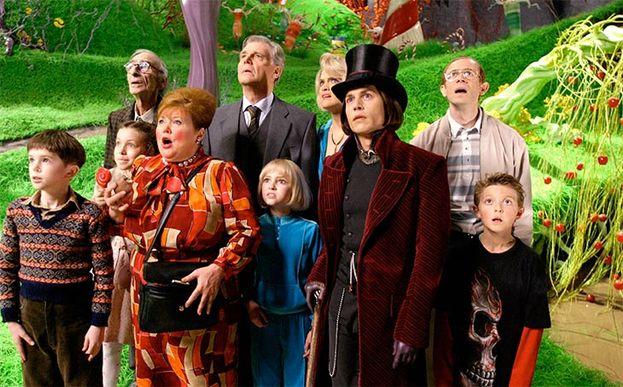 11. 'Charlie y la fábrica de chocolate' (2005)