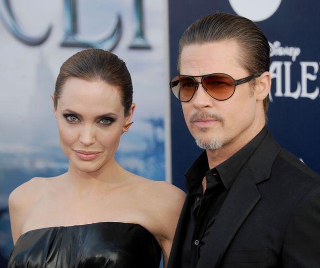 1. Brad Pitt y Angelina Jolie