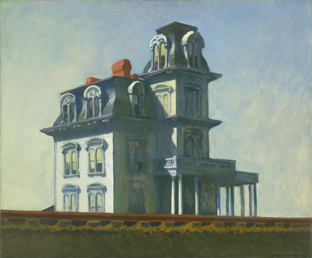 'HOUSE BY THE RAILROAD' (1925), MoMA