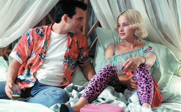 Christian Slater y Patricia Arquette