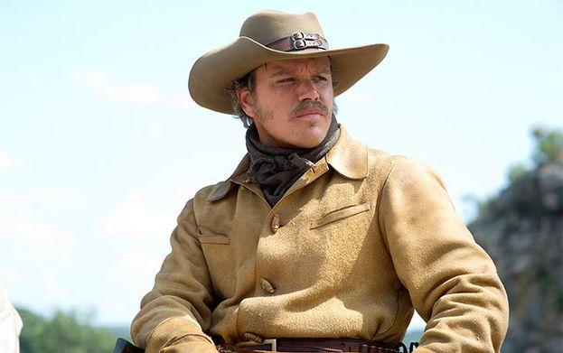 Matt Damon en 'Valor de ley' (2010)