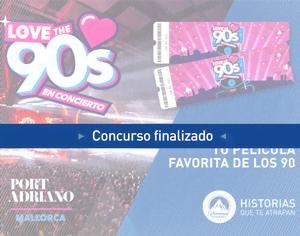 ¡Gana 4 entradas para el concierto 'Love the 90s' en Mallorca!