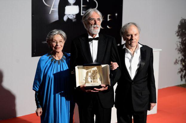 Jean-Louis Trintignant y Emmanuelle Riva en 'Amor'