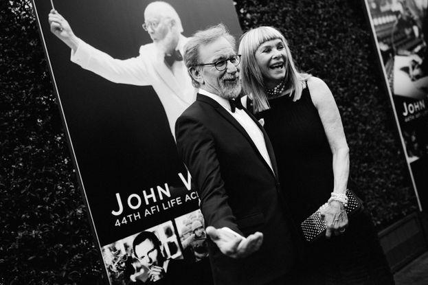 Steven Spielberg y Kate Capshaw