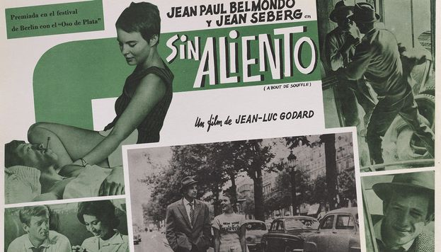 Sin aliento (Al final de la escapada) (1960), Jean-Luc Godard