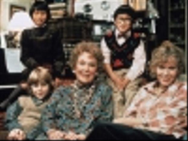 Maureen O'Sullivan y Mia Farrow