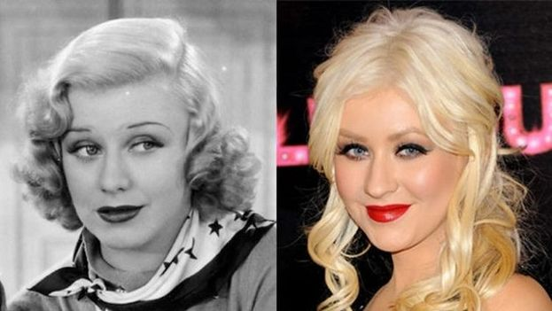 Christina Aguilera y Ginger Rogers