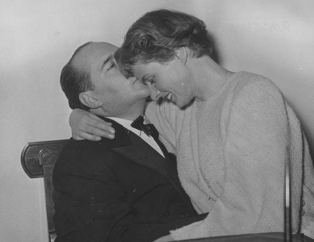 Ingrid Bergman y Roberto Rossellini