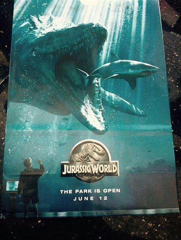 Teaser poster de 'Jurassic World'
