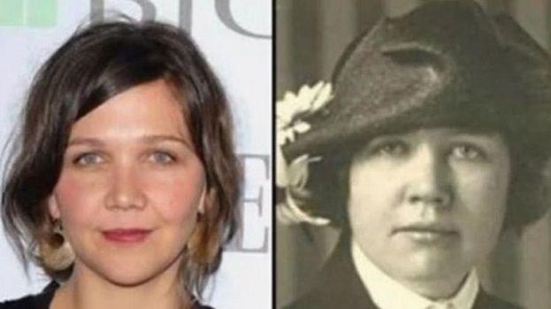 Maggie Gyllenhaal y Rose Wilder Lane