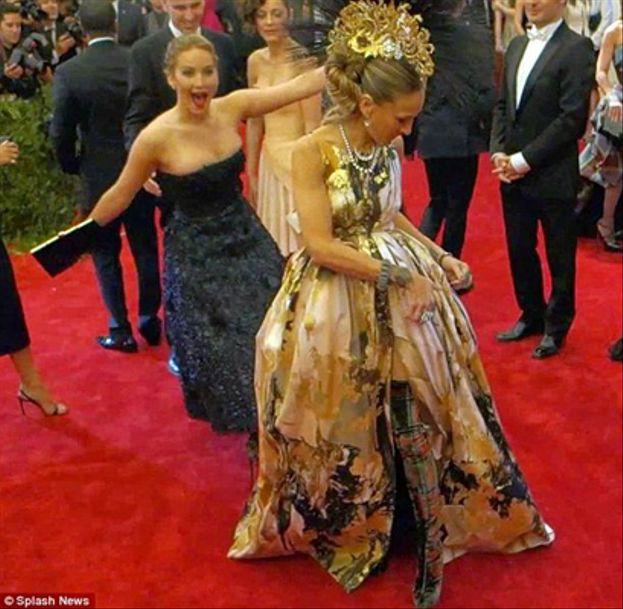 Jennifer Lawrence a Sarah Jessica Parker