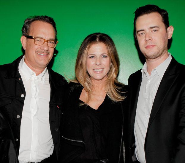 Tom Hanks y Colin Hanks