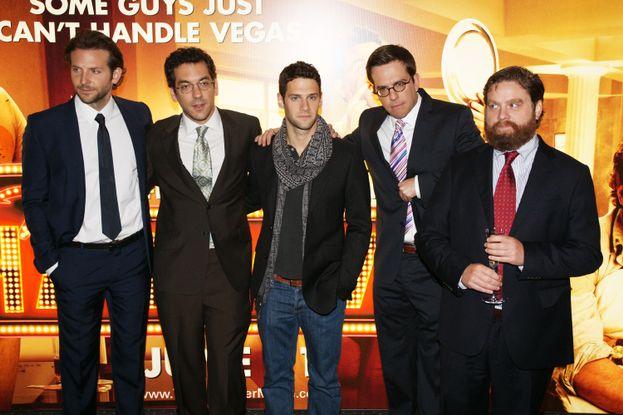 4. Bradley Cooper, Zach Galiflanakis, Ed Helms, Justin Bartha en Resacón en Las Vegas