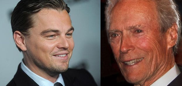 1.-Leonardo DiCaprio y Clint Eastwood