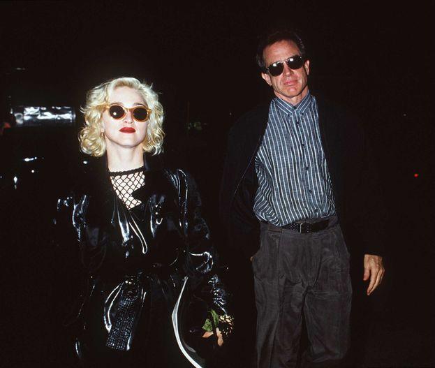 Madonna y Warren Beatty