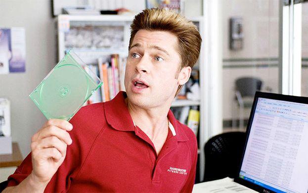 Brad Pitt en 'Quemar después de leer' (2008)