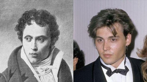 Johnny Depp y Arthur Schopenhauer
